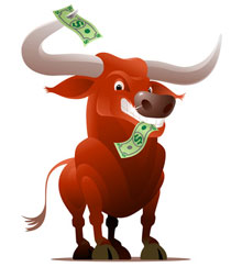 new bull trading stocks online